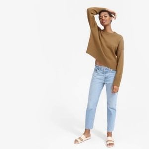 Everlane Brown Crewneck Sweater